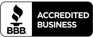 Accredited Business Seal - Black Horizontal
